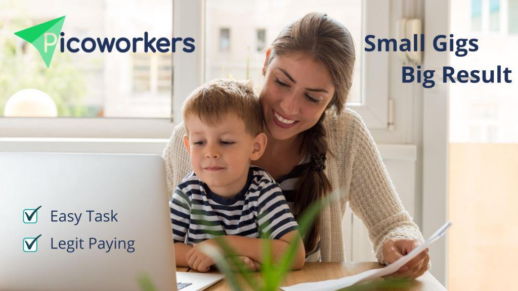 Earn money at Picoworkers 2020