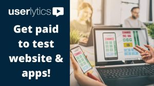 legit ways to earn money online and easy to do it userlytics